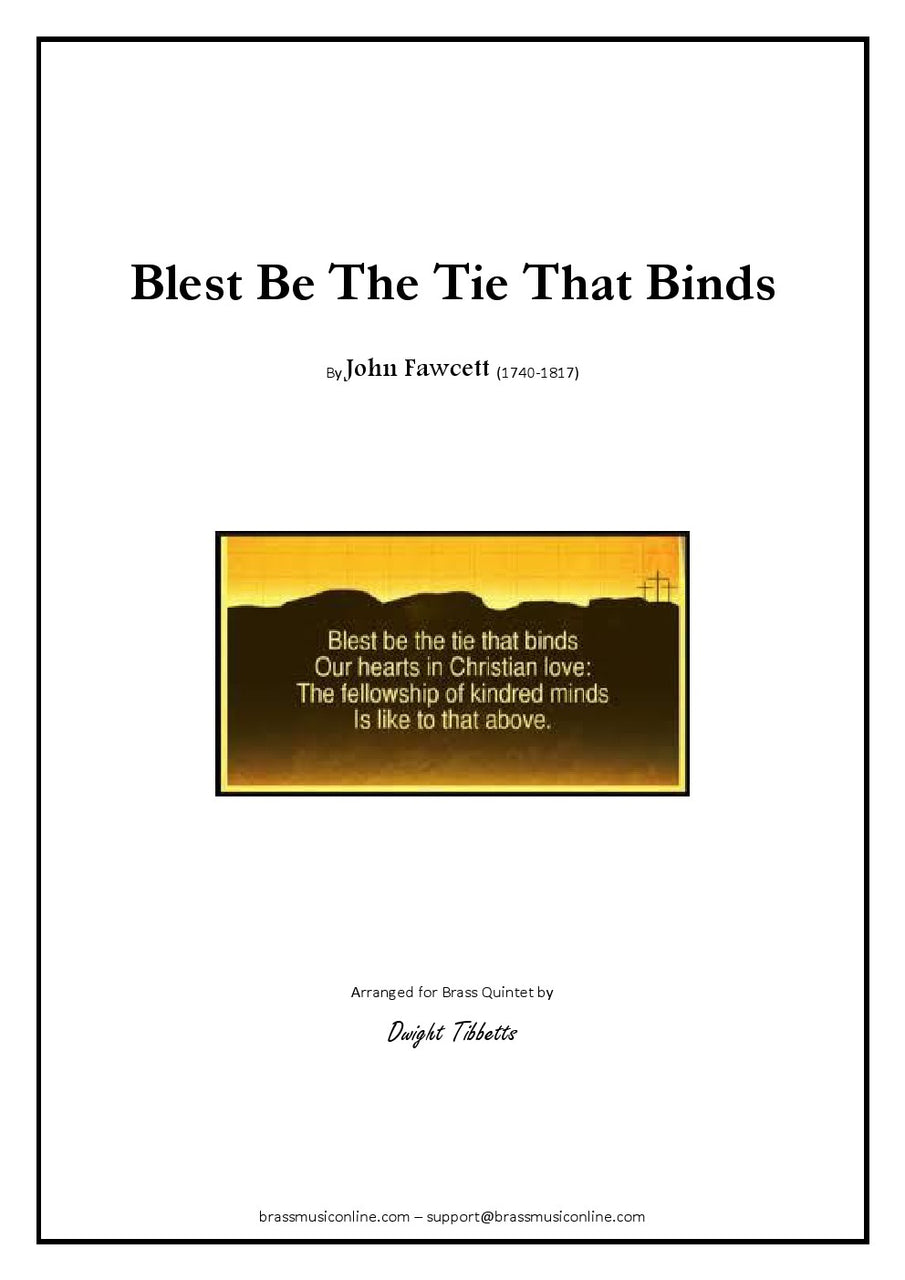 Fawcett - Blest be the tie that binds - Brass Quintet