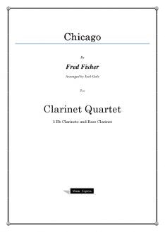 Fisher - Chicago - Clarinet Quartet