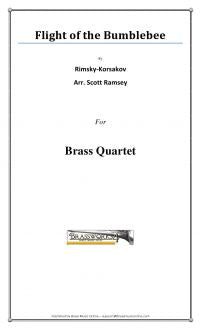 Rimsky-Korsakov - Flight Of The Bumblebee - Brass Quartet