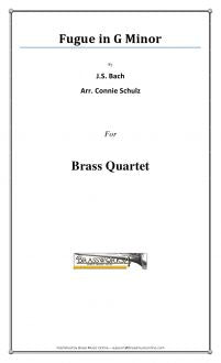 Bach - Fugue In G Minor - Brass Quartet
