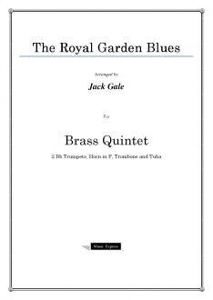 Gale - The Royal Garden Blues - Brass Quintet