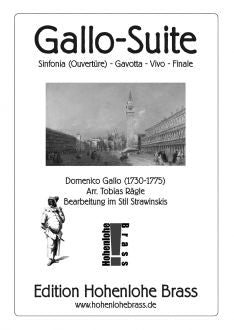 Gallo - Suite for Ten Piece Brass Choir