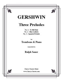 Gershwin- Three Preludes for Trombone and Piano