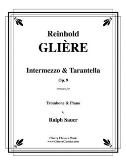 Gliere – Two Pieces for Trombone and Piano, Op. 9