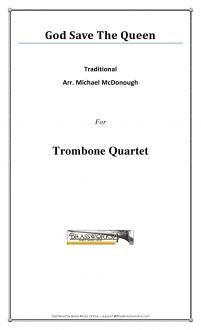 Traditional - God Save The Queen - Trombone Quartet