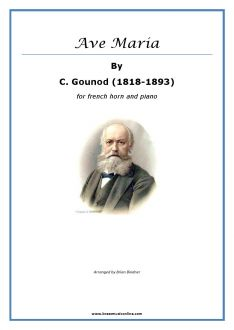 Gounod - Ave Maria for French Horn and Piano