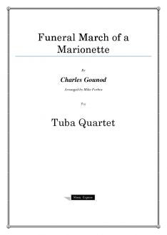 Gounod - Funeral March of a Marionette - Tuba Quartet