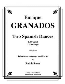 Granados – Two Spanish Dances for Bass Trombone and Piano