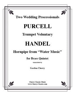 Händel/Purcell - Wedding processionals - Brass Quintet