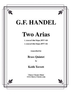 Handel - Two arias for Brass Quintet