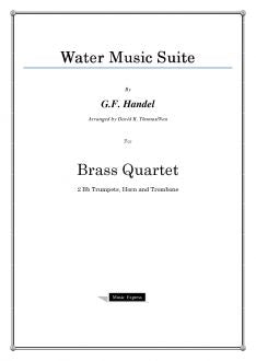 Handel - Winter Music Suite - Brass Quartet