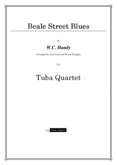 Handy - Beale Street Blues - Tuba Quartet