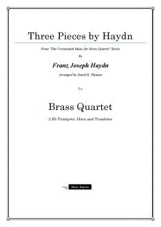 Haydn - Three Pieces - Brass Quartet