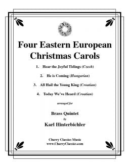 Traditional - Four European Christmas Carols - Brass Quintet
