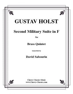 Holst – Second Suite in F for Brass Quintet