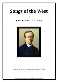 Holst - Songs of the West - Brass Ensemble