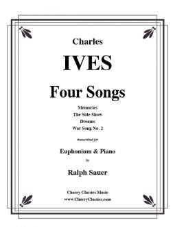 Ives - Four Songs - Euphonium and Piano