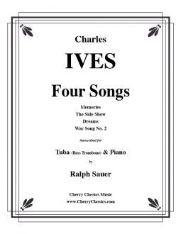 Ives - Four Songs for Bass Trombone and Piano