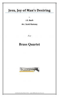 J.S. Bach - Jesu, Joy of Man's Desiring - Brass Quartet