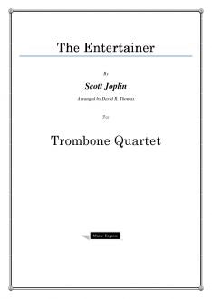 Joplin - The Entertainer - Trombone Quartet