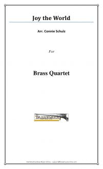 Traditional - Joy to the World - Brass Quartet