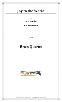 G.F. Handel - Joy to the World - Brass Quartet