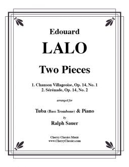 Lalo - Two Pieces for Bass Trombone and Piano