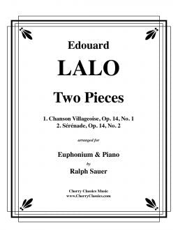 Lalo, Edouard – Two Pieces for Euphonium and Piano