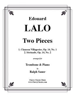 Lalo - Two piece for Trombone and Piano
