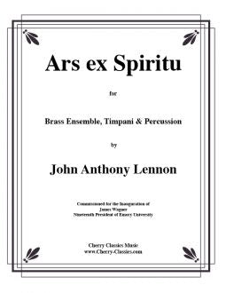 Lennon – Ars ex Spiritu for Brass Choir