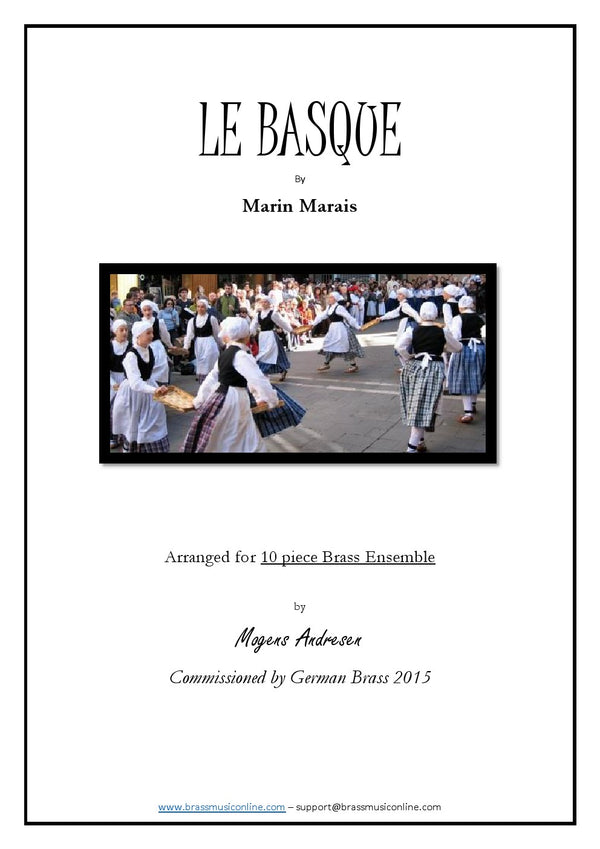 Marais - Le Basque - Ten Piece Brass Ensemble