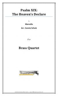 Marcello - Psalm XIX The Heavens Declare - Brass Quartet