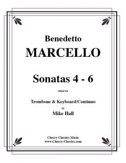 Marcello – Sonatas 4-6 for Trombone and Keyboard/Continuo