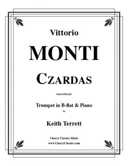 Monti – Czardas for Trumpet in B-flat and Piano