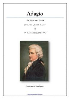 Mozart - Adagio for Horn and Piano