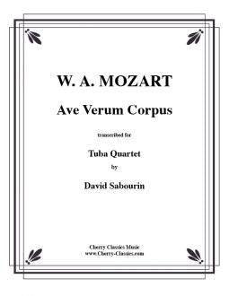 Mozart – Ave Verum for Tuba Quartet