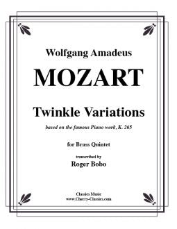 Mozart - Twinkle for Brass Quintet, based on the 12 Variations for Piano K. 265