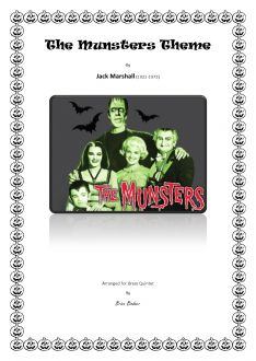 Marshall - The Munsters Theme - Brass Quintet