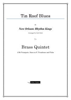 Gale - Tin Roof Blues - Brass Quintet