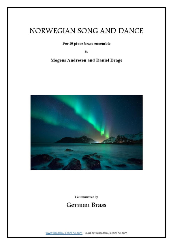 Norwegian Song and Dance - Ten piece Brass Ensemble
