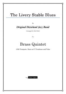 Gale - The Livery Stable Blues - Brass Quintet