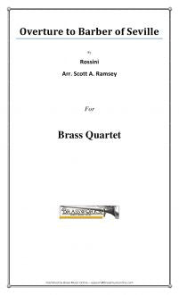 Rossini - Oveture to Barber of Seville - Brass Quartet