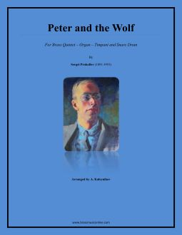 Peter and the Wolf - Brass Quintet and Organ