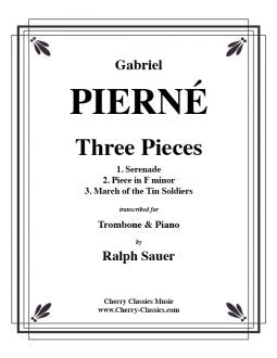 Pierné – Three Pieces for Trombone and Piano