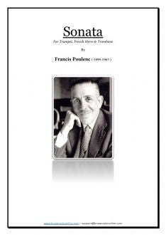 Poulenc - Sonata for Trumpet, Horn and Trombone