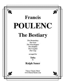 Poulenc – The Bestiary for Bass Trombone and Piano
