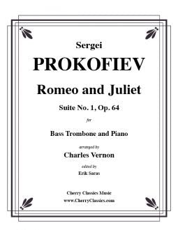 Prokofiev - Romeo and Juliet, Suite No.1, Op.64 - Bass Trombone and Piano