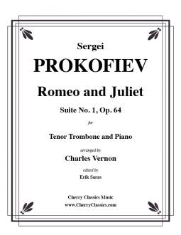 Prokofiev - Romeo and Juliet, Suite No.1, Op.64 - Tenor Trombone and Piano