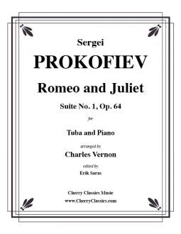 Prokofiev – Romeo and Juliet, Suite No. 1, Op. 64 for Tuba and Piano