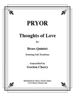 Pryor - Thoughts of Love - Brass Quintet